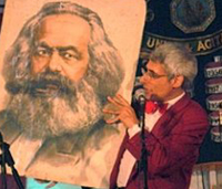 Ian Saville and Karl Marx